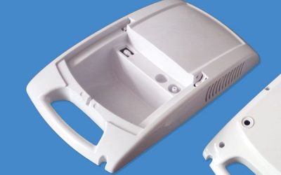 Plastic injection molding and surface finishing